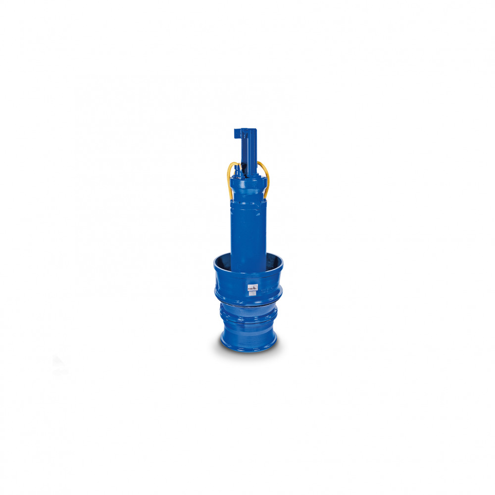 Amacan P Submersible pump in discharge tube