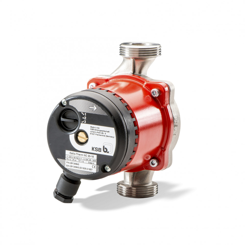 Calio-Therm NC Dry-installed pump