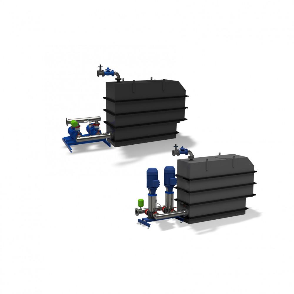 Hya-Duo D FL-R Druckerhöhungsanlage