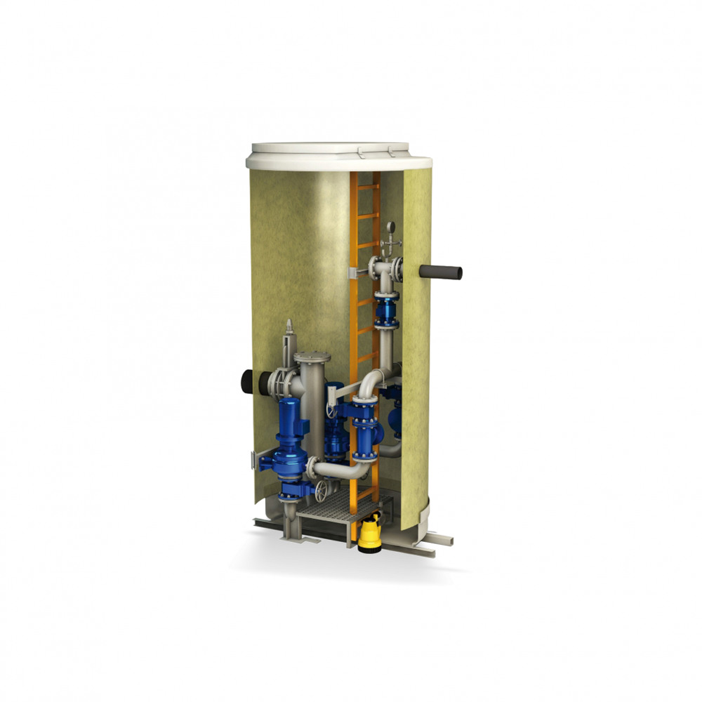 SRL Waste water pumping station