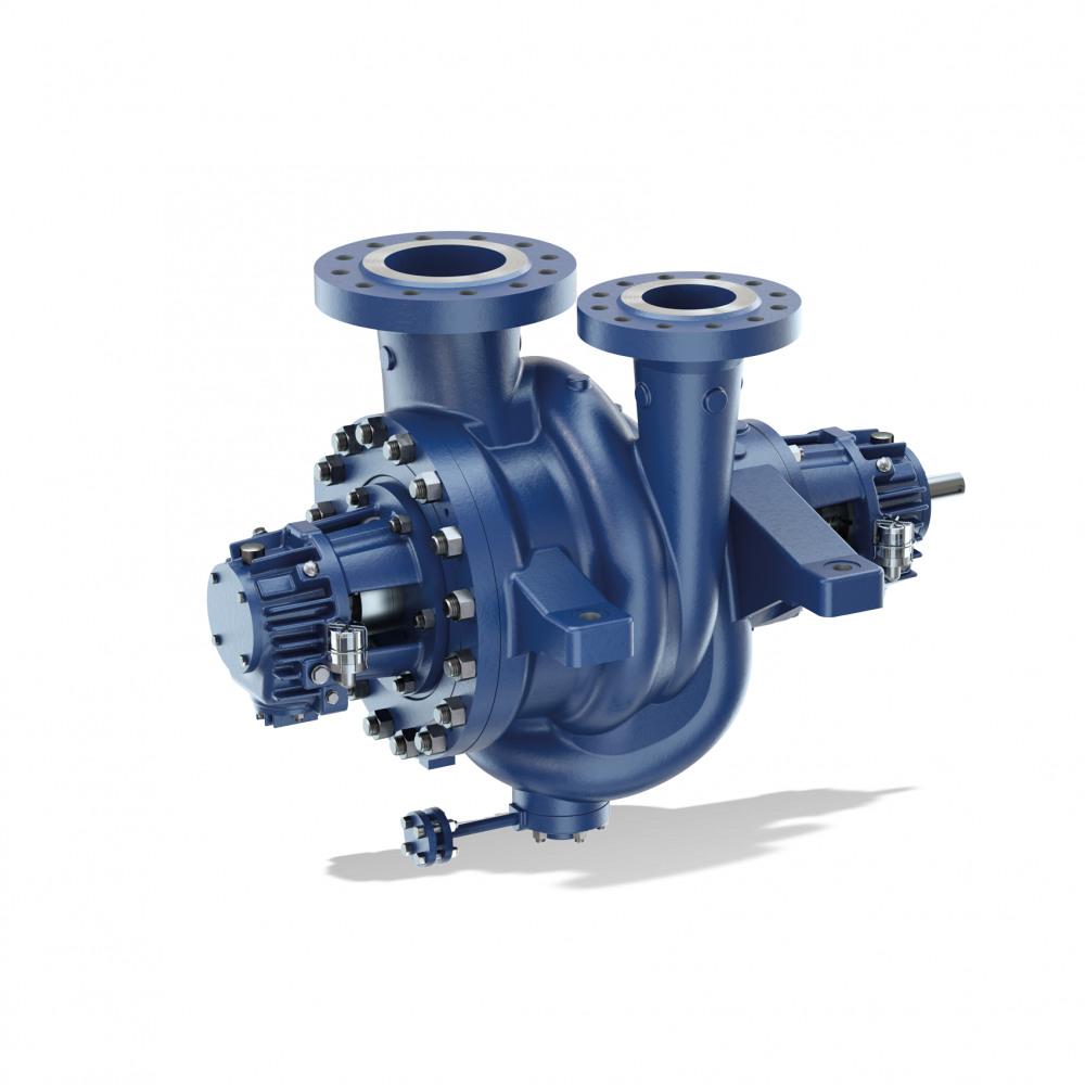 RPHb;RPHd Torruppställd pump