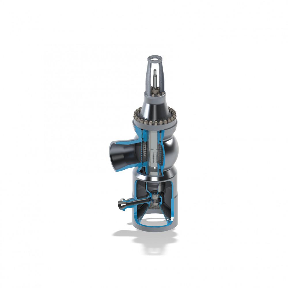 Welland & Tuxhorn Globe valve