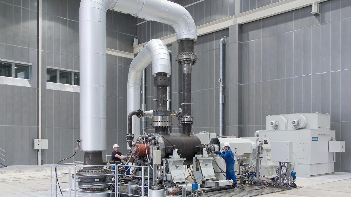 Testanläggning för pannmatningspumpar från KSB
