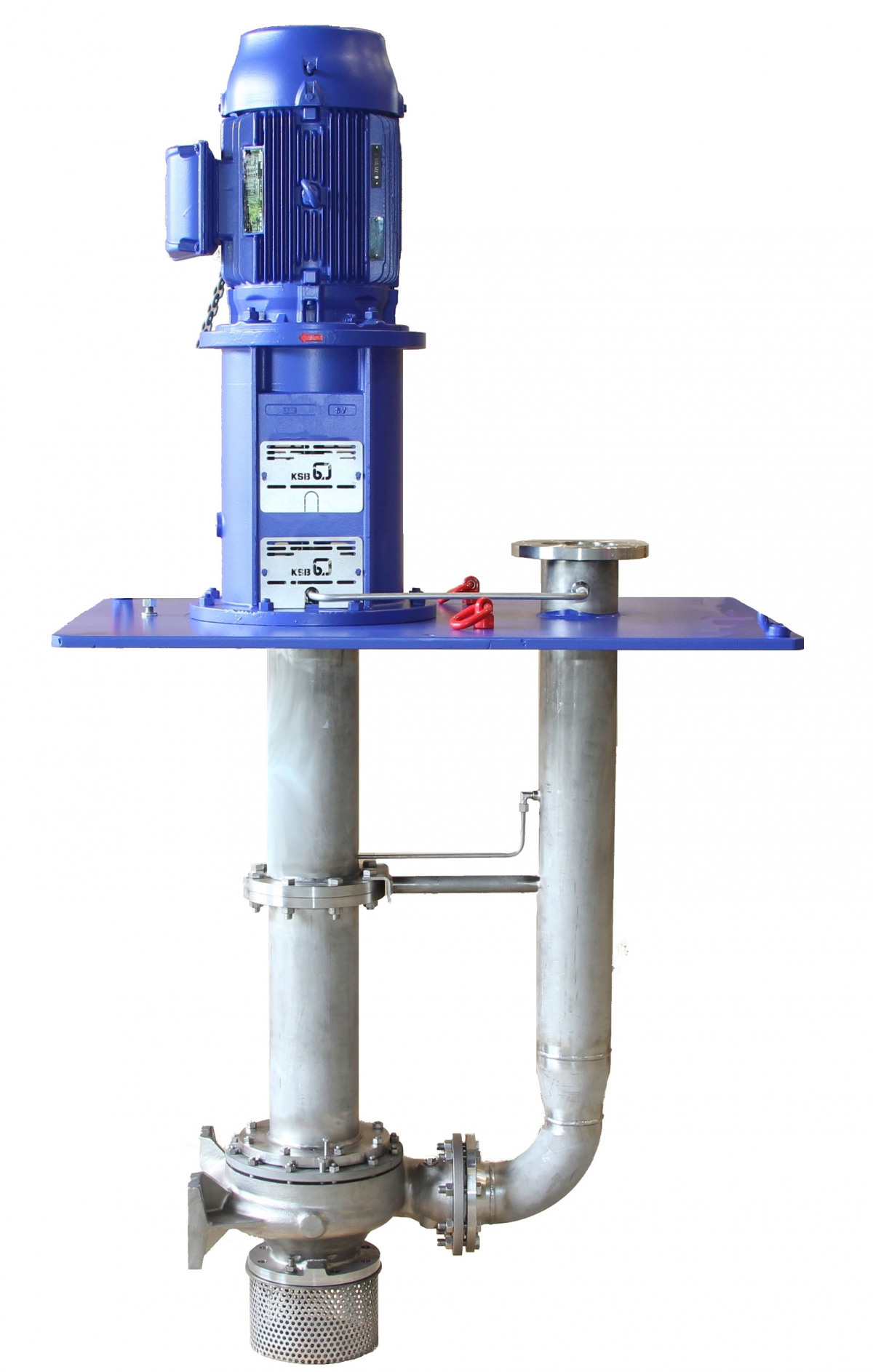 New suspended pumps with the hydraulic system of standardised chemical pumps