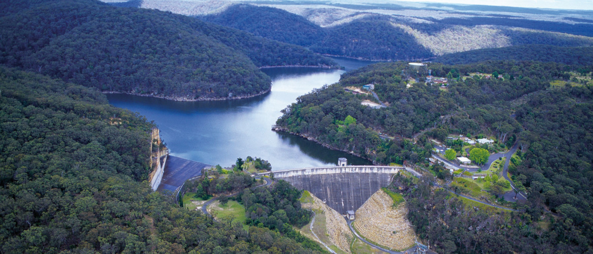 Nepean Dam Deep Water Recovery Project: The Dam