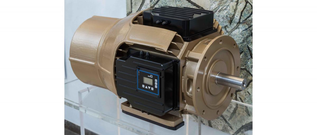 Synkron reluktansmotor från KSB