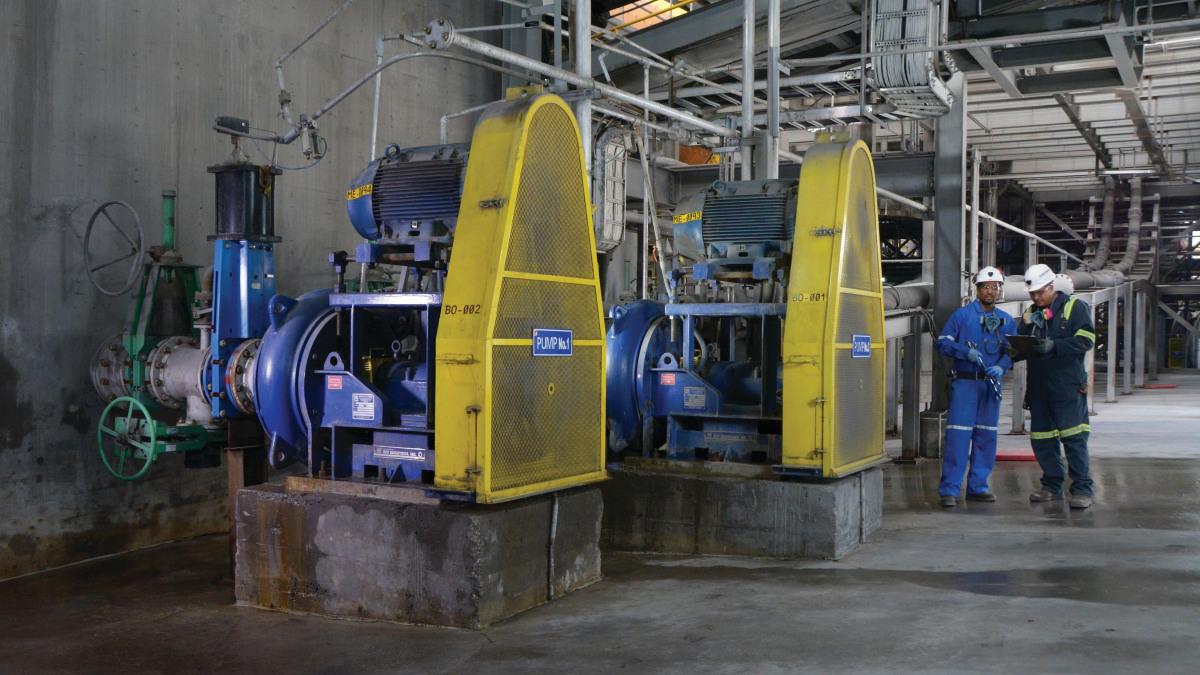 Les pompes à solides de KSB offrent une sécurité de fonctionnement exceptionnelle.