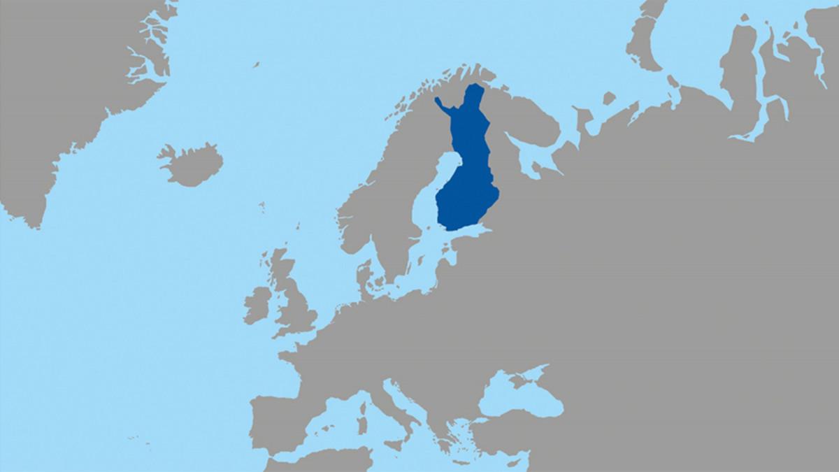 map sweden