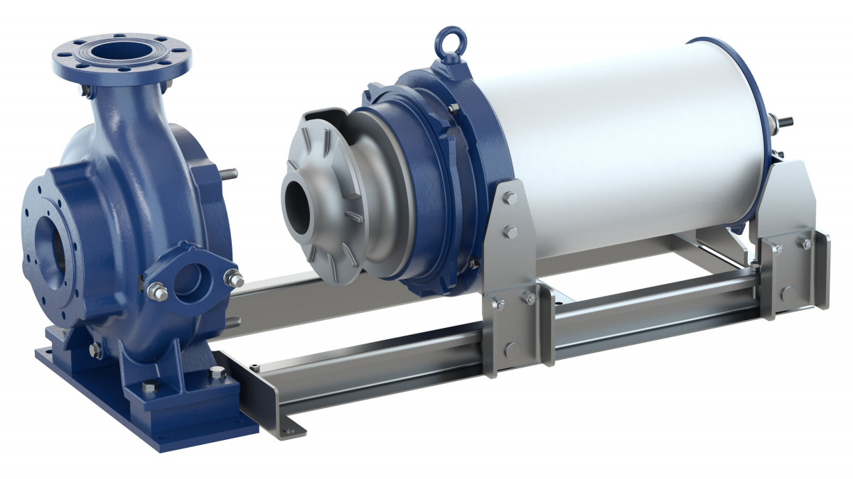 New waste water pumps for high ambient temperatures