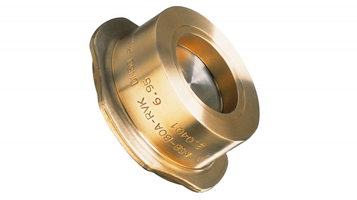 KSB BOA RVK - inklem-terugslagklep van brons resp. gietijzer