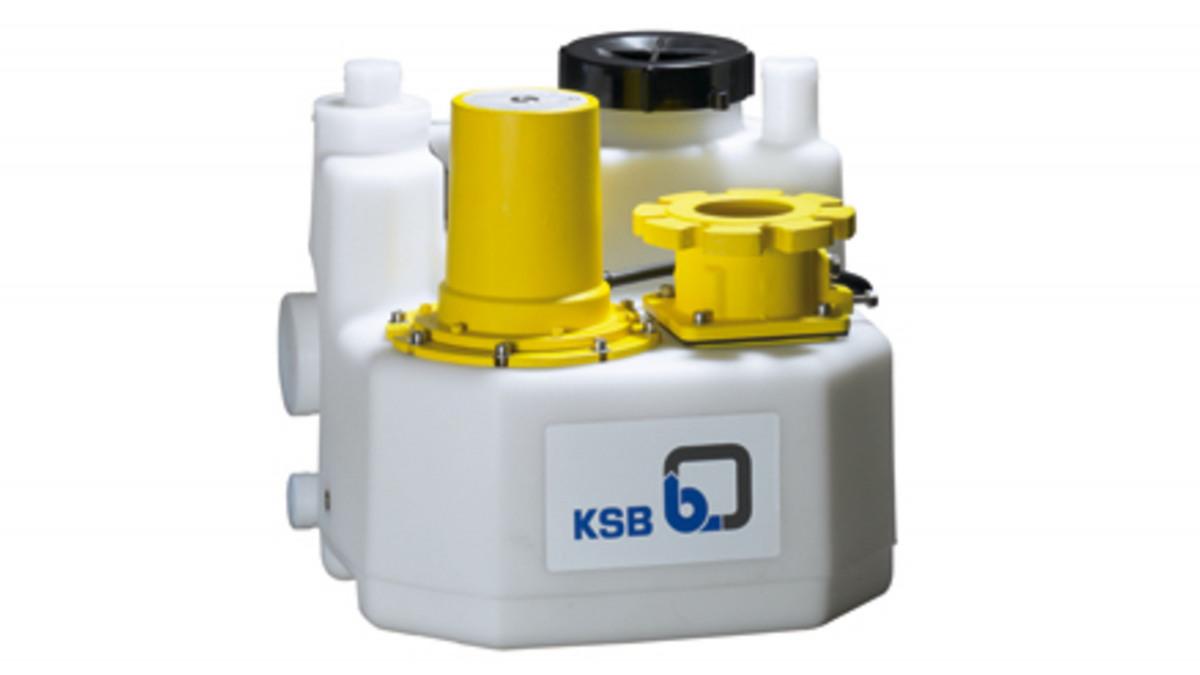 De KSB opvoerinstallatie voor afvalwater mini-Compacta U60