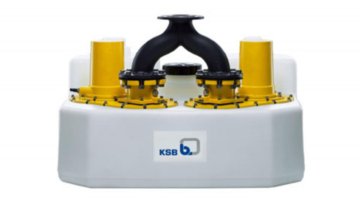 KSB Compacta opvoerinstallatie afvalwater