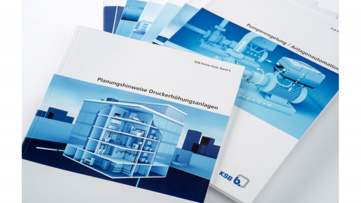 Verschillende KSB Know-How-brochures