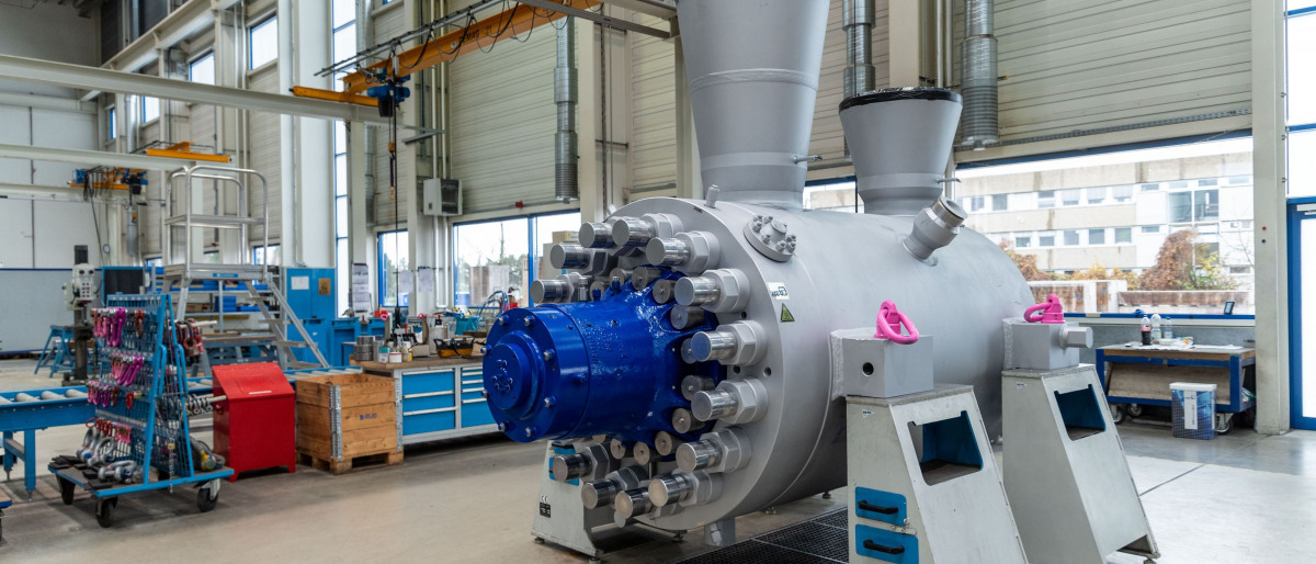 CHTD 11/5 boiler feed pump with the world's highest drive rating at present