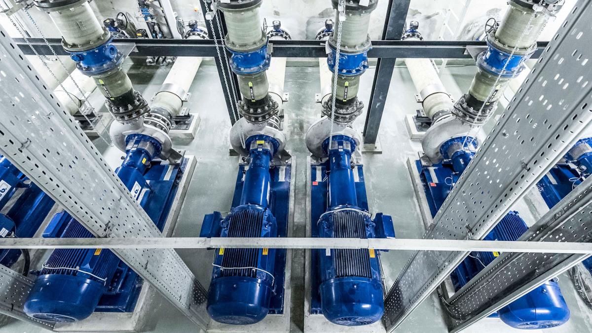 KSB's MegaCPK volute casing pump for handling aggressive liquids