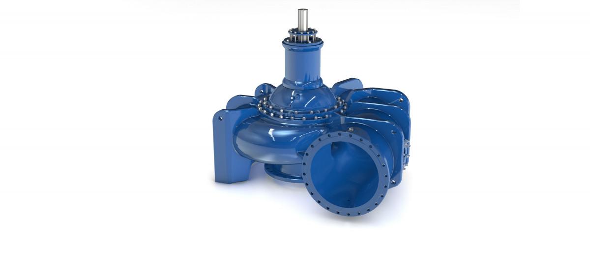 KSB gigantic pumps for waste water transport