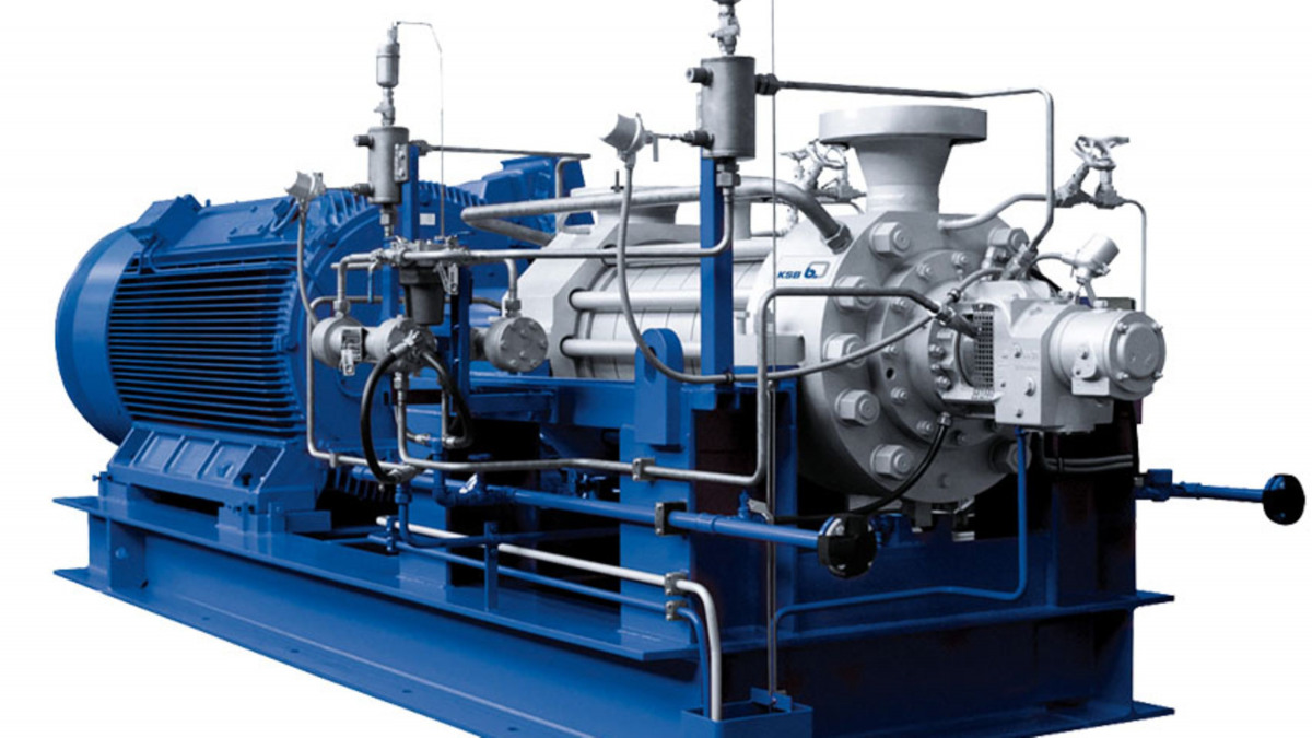 Radial Split Pump
