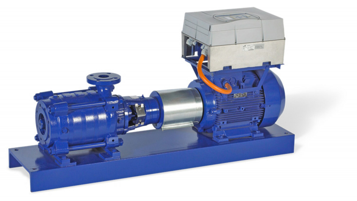 Multitec pump with PumpDrive™ variable speed control