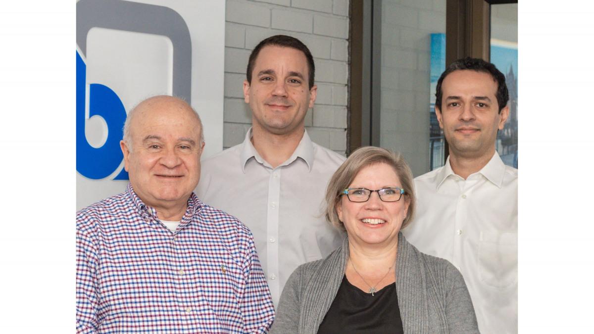 4 membres de l'équipe de management canadienne de KSB