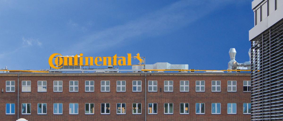 Firmengebäude der Continental AG in Hannover von außen