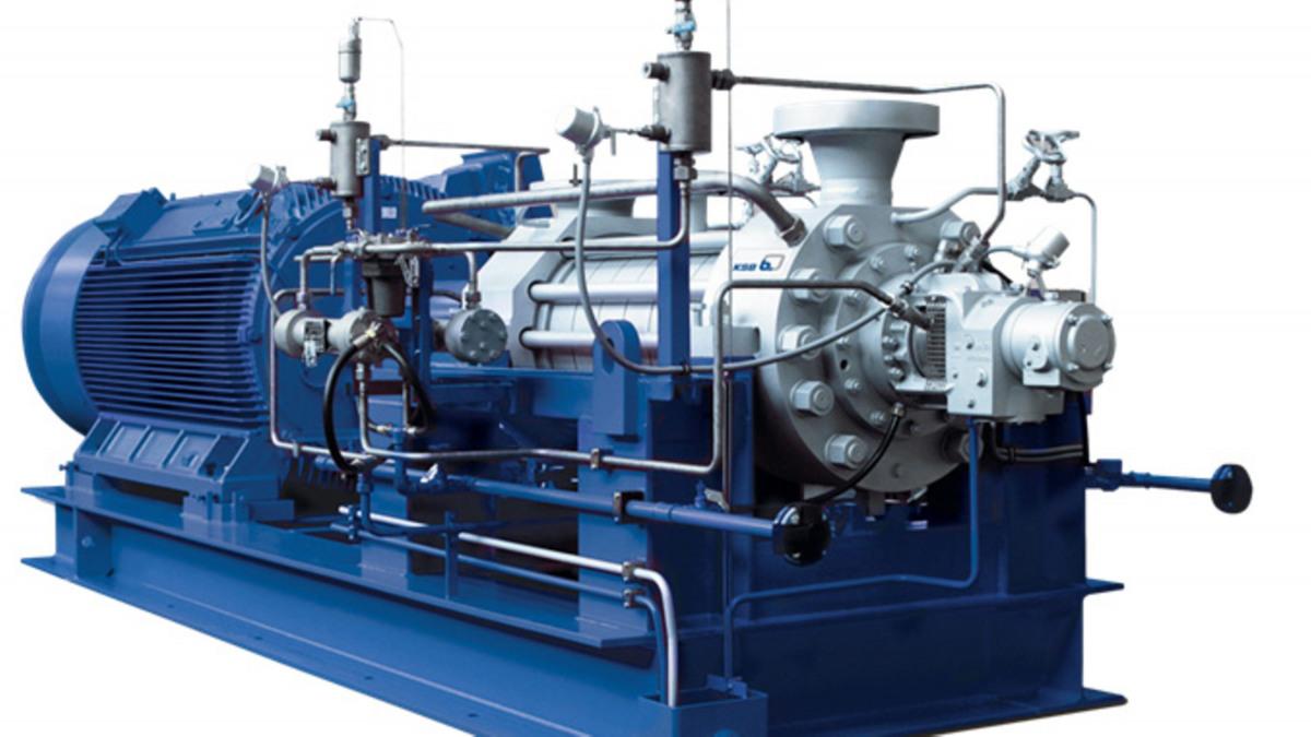 Pompe multicelllulaire haute pression HGC