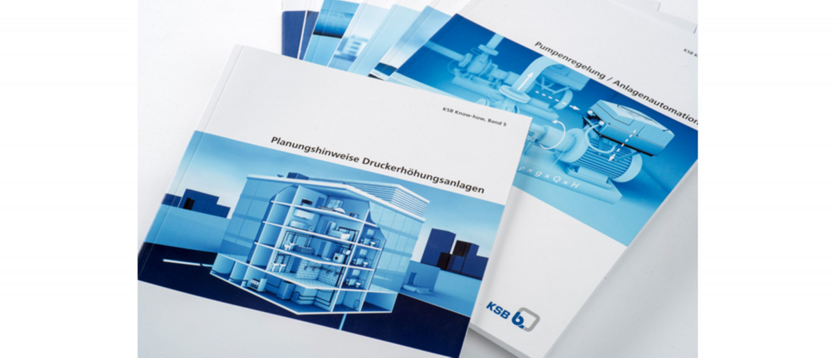 Various KSB know-how brochures