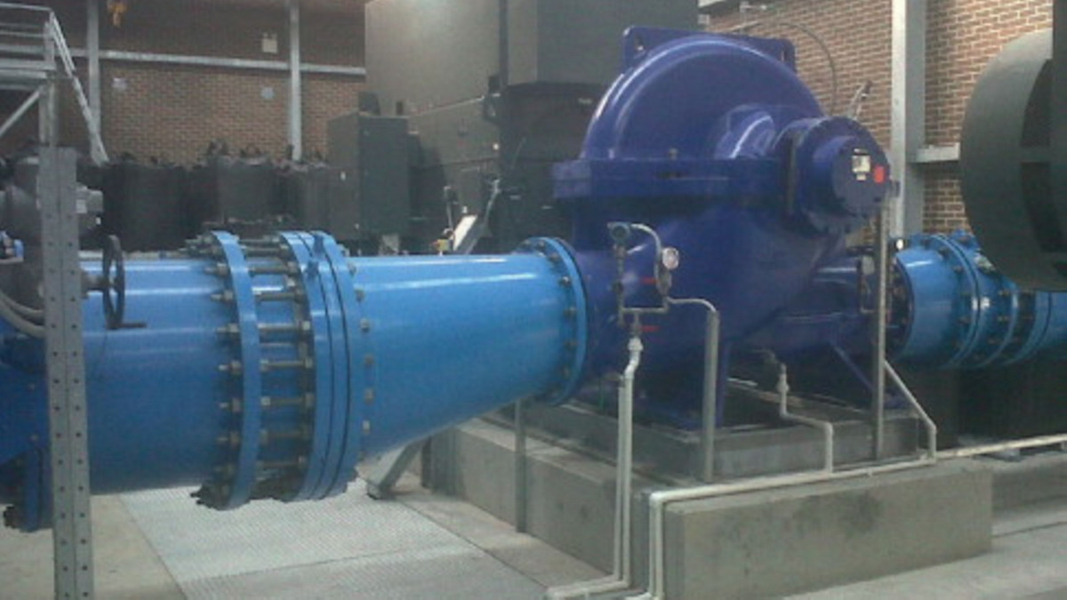 Together, the two pump stations have increased transfer capacity to 160 million litres of treated water a day.