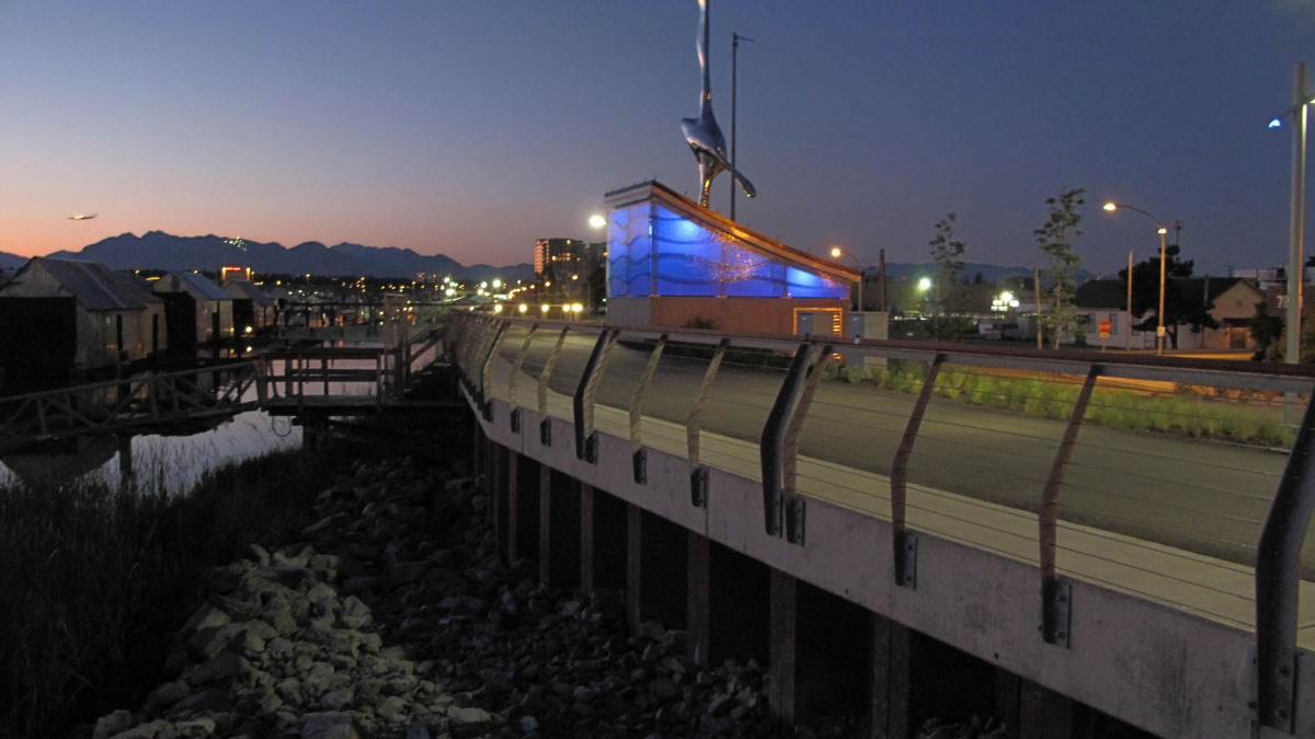 Cambie Road pumping station equipped with KSB submersible motor pumps