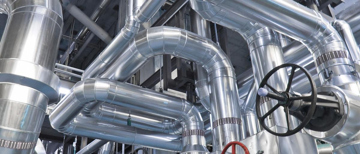 工业设备中的管道