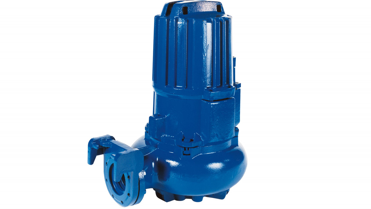 The Amarex KRT is a submersible motor pump for handling wastewater and raw sewage.