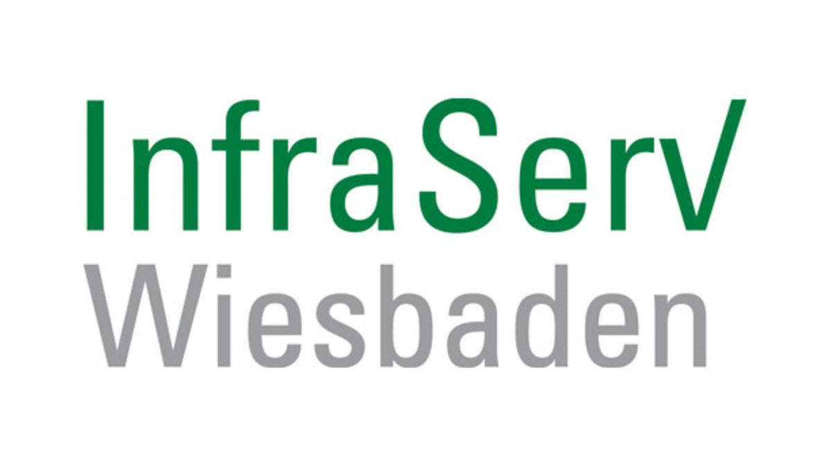 Logotipo de InfraServ Wiesbaden