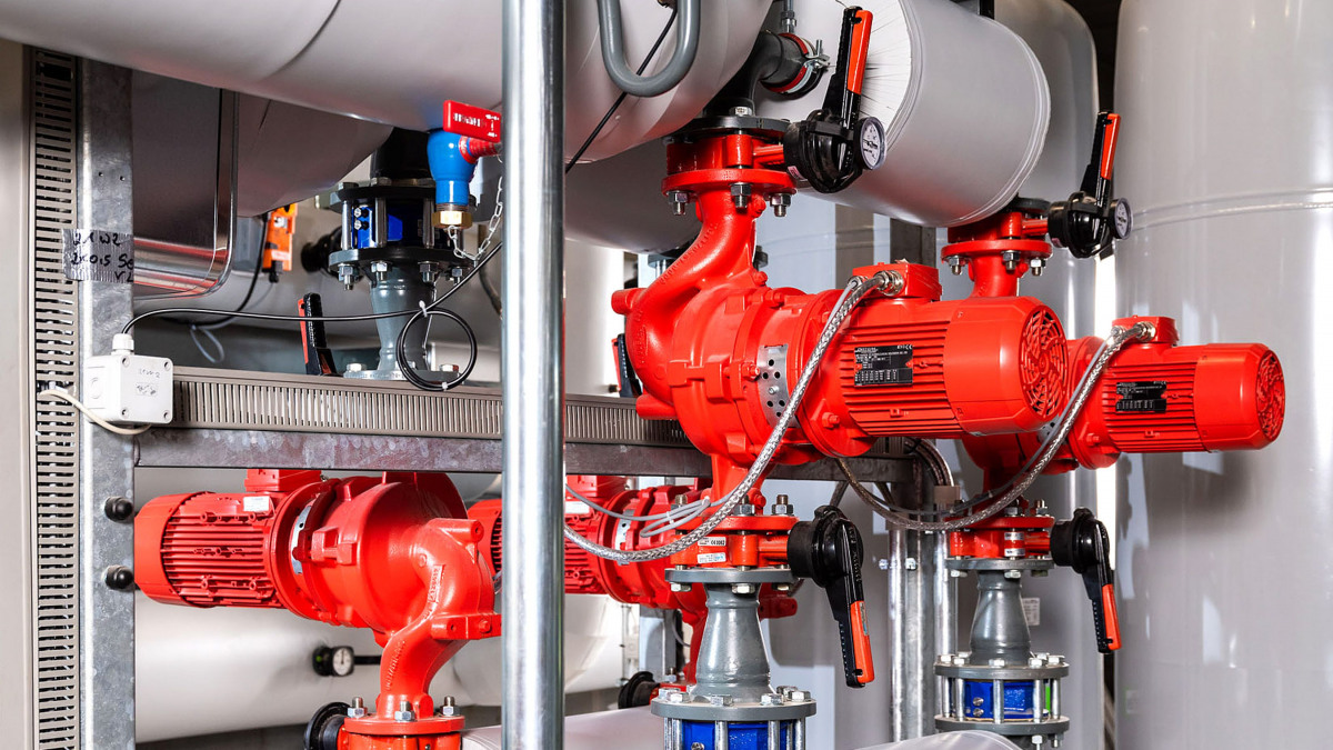 Etaline pumps, BOA-X butterfly valves and SERIE 2000 dual-plate check valves