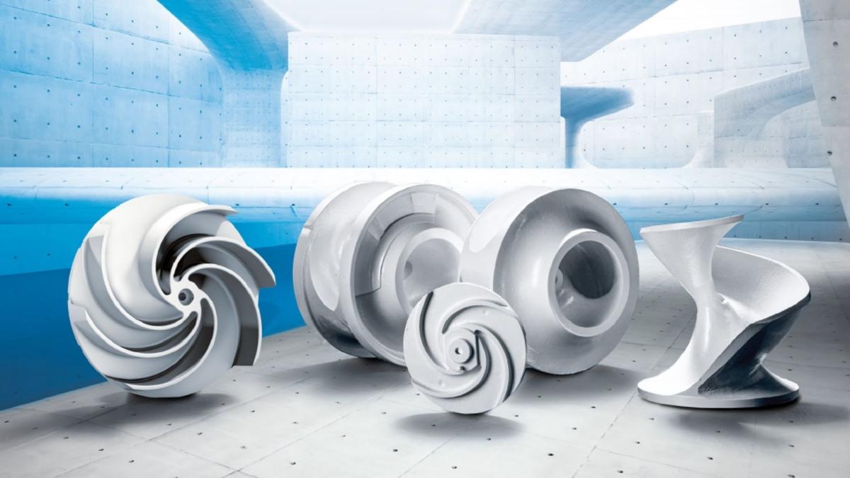 Abwasserpumpen-Laufräder von KSB