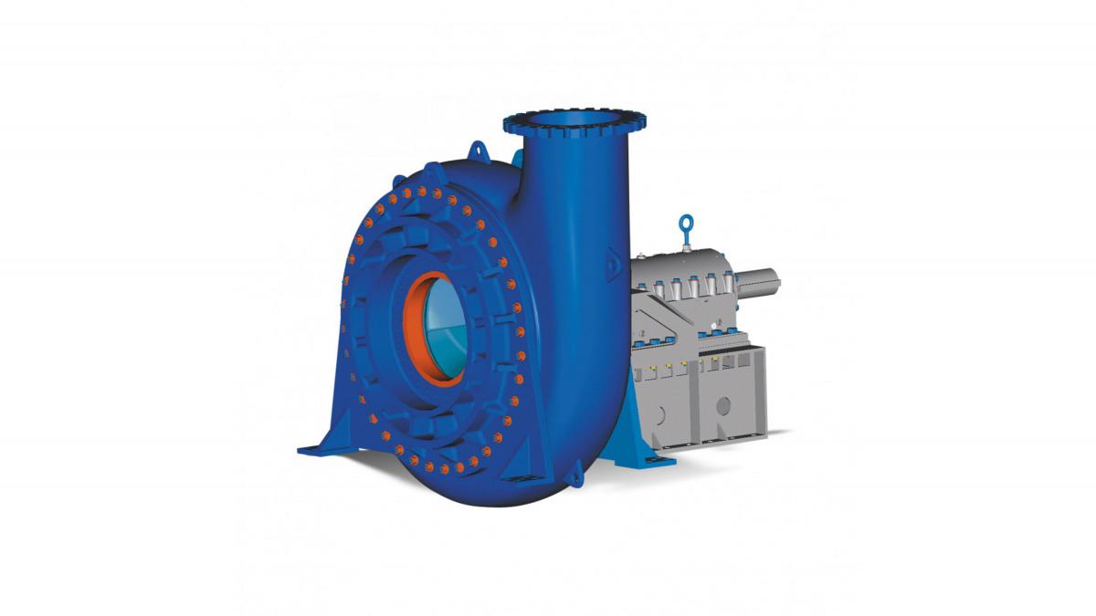 MHD slurry pump
