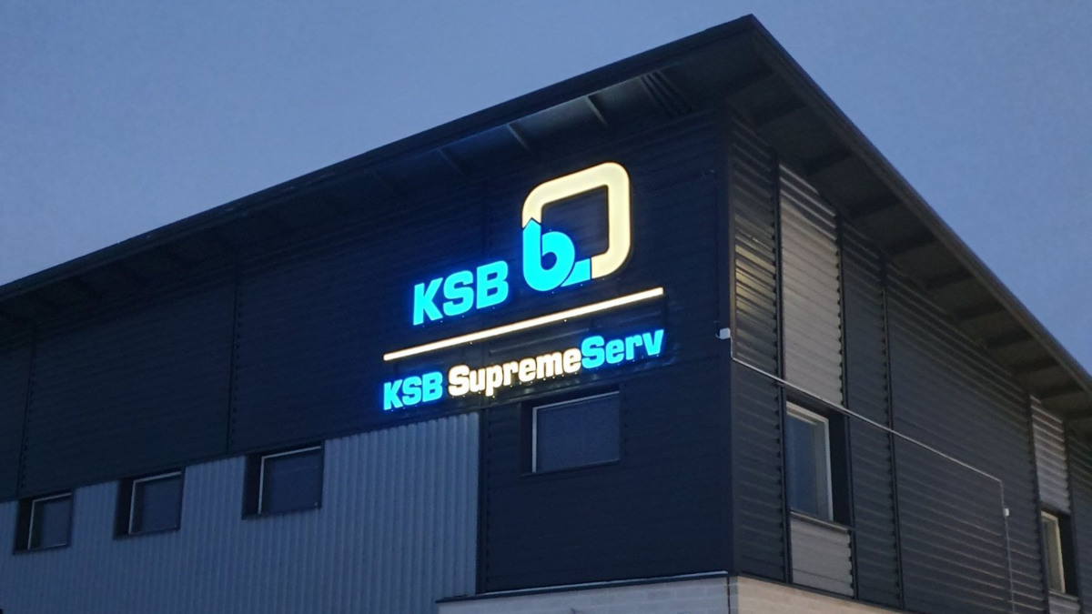 KSB office and service center in Oulu, Northern Finland