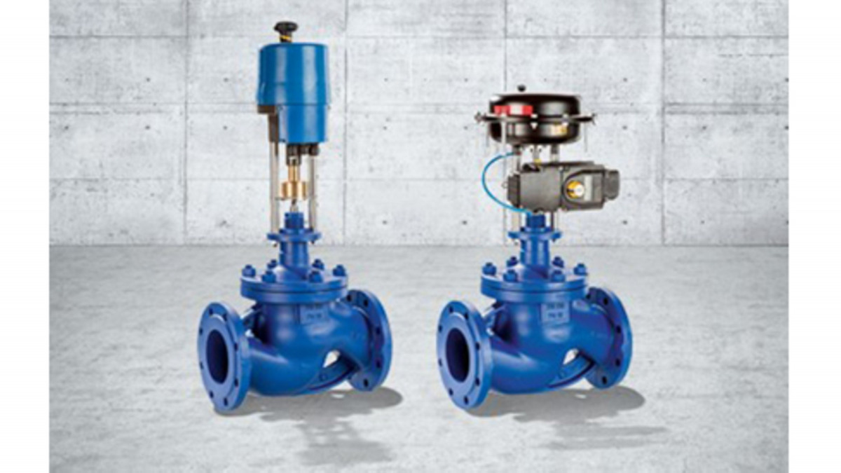 Service-friendly BOA-CVE/CVP H control valves for water and steam applications