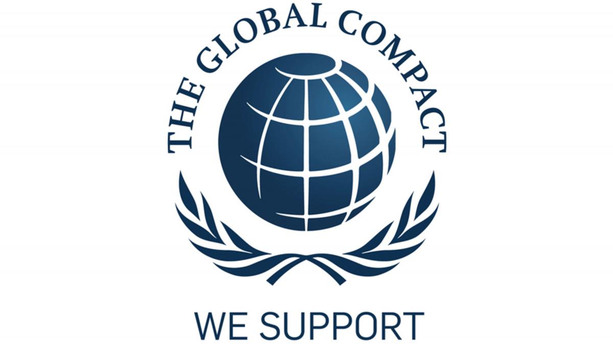 Das Logo des Global Compact der United Nations