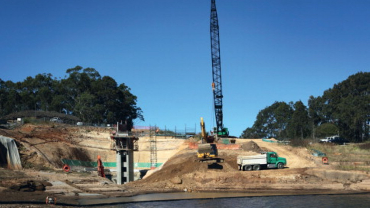 KSB RDLO pumps were supplied for the Mardi Dam project.