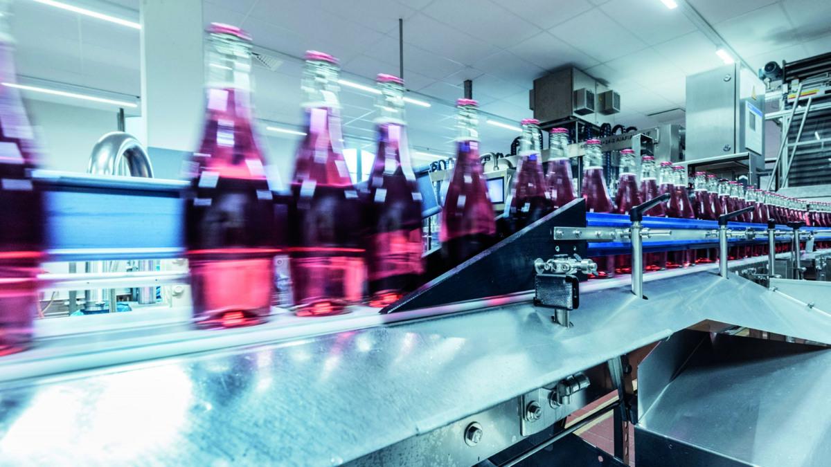 """Produktionsanlage für über 6 Millionen Liter """"Mumm Dry Alkoholfrei"""" pro Jahr"""