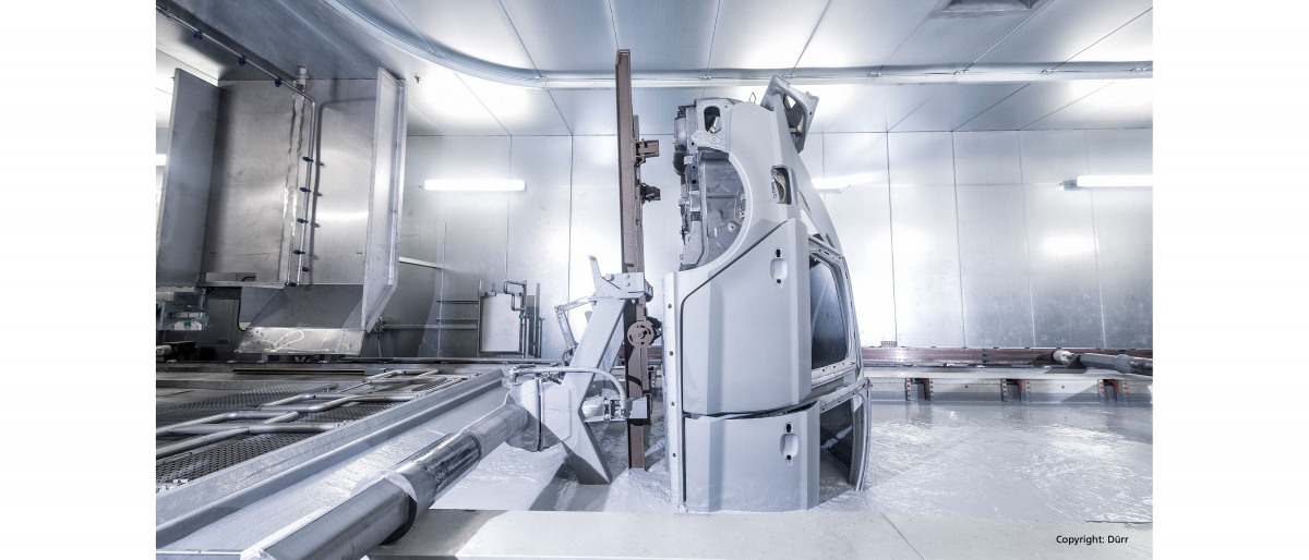 Pumping cataphoretic dip paint in highly complex paint shops: KSB has the optimum solution for almost every application