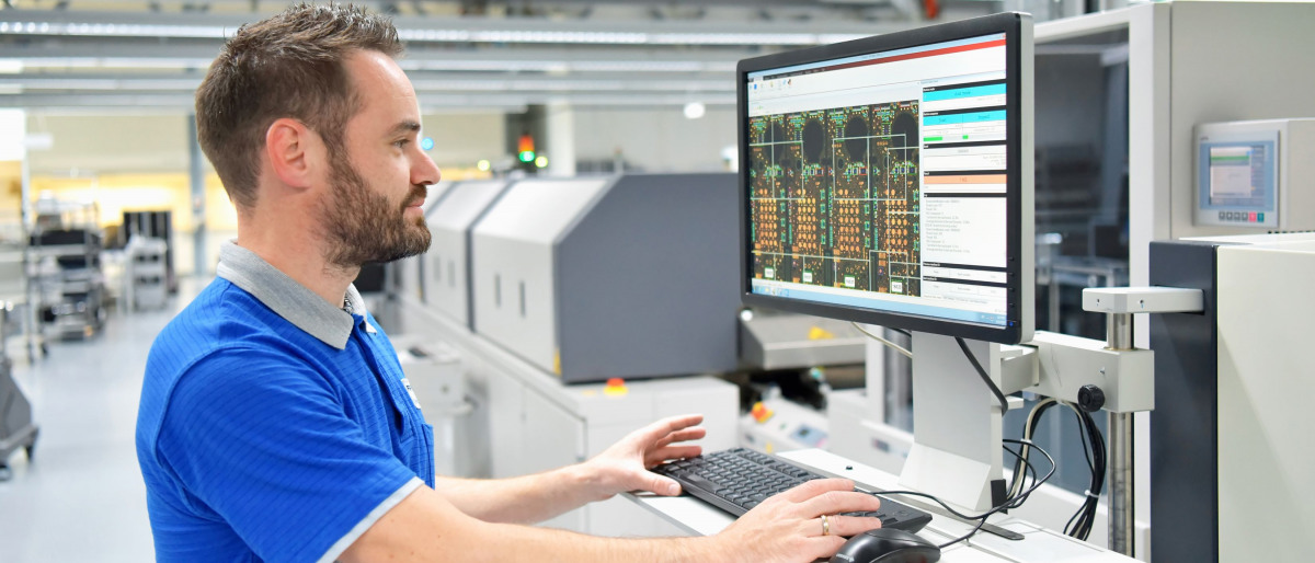 Example for IIoT: A smart monitoring system for a production plant