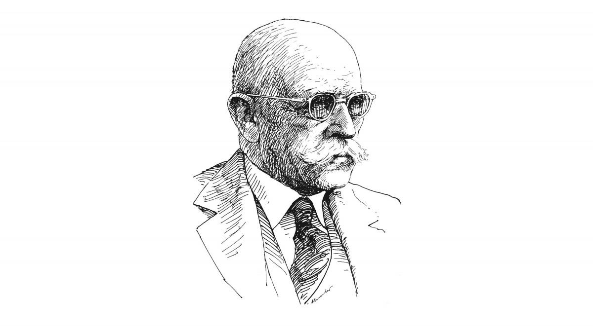 Geh. Kommerzienat Dr. Ing. e.h. Jacob Klein anlässlich seines 70. Geburtstags