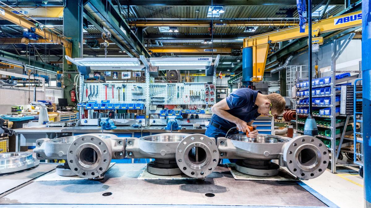 Pumpen von KSB setzen international Standards.