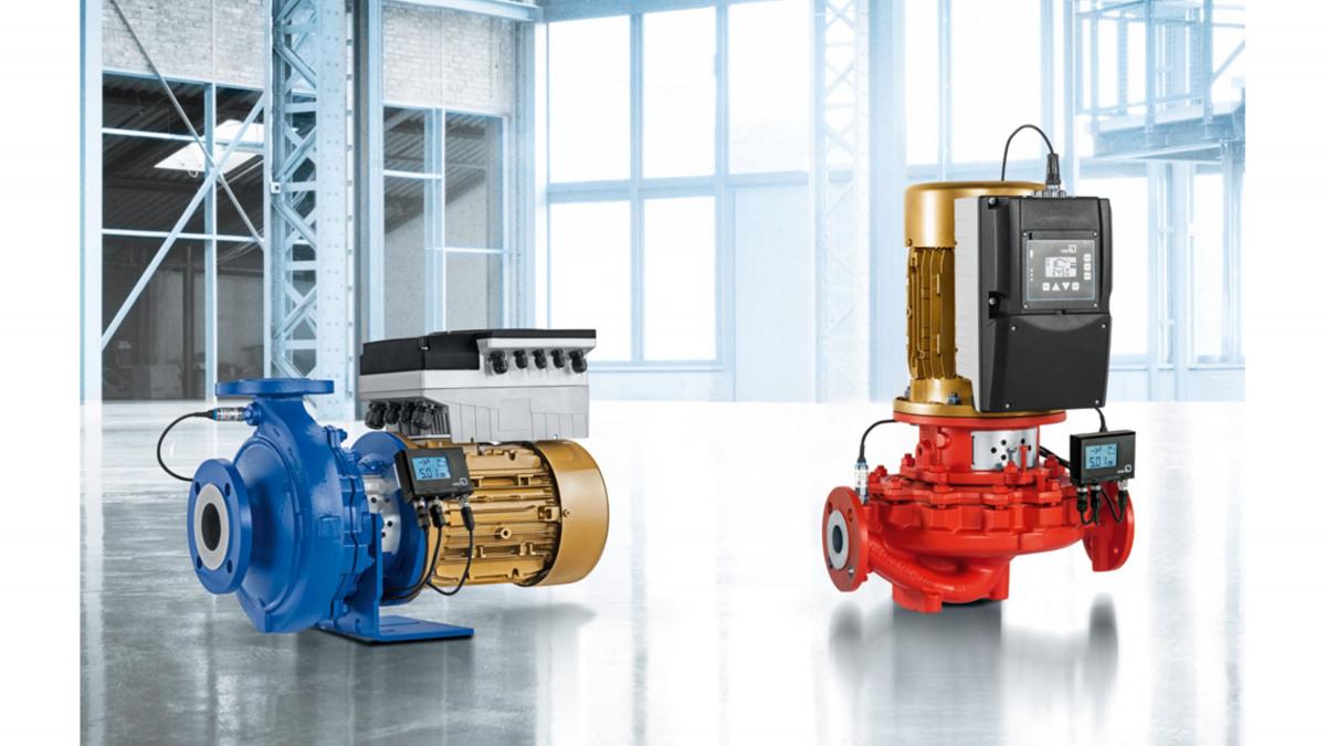 Etaline close-coupled heating pump