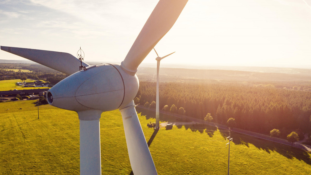 Clean energy from wind power