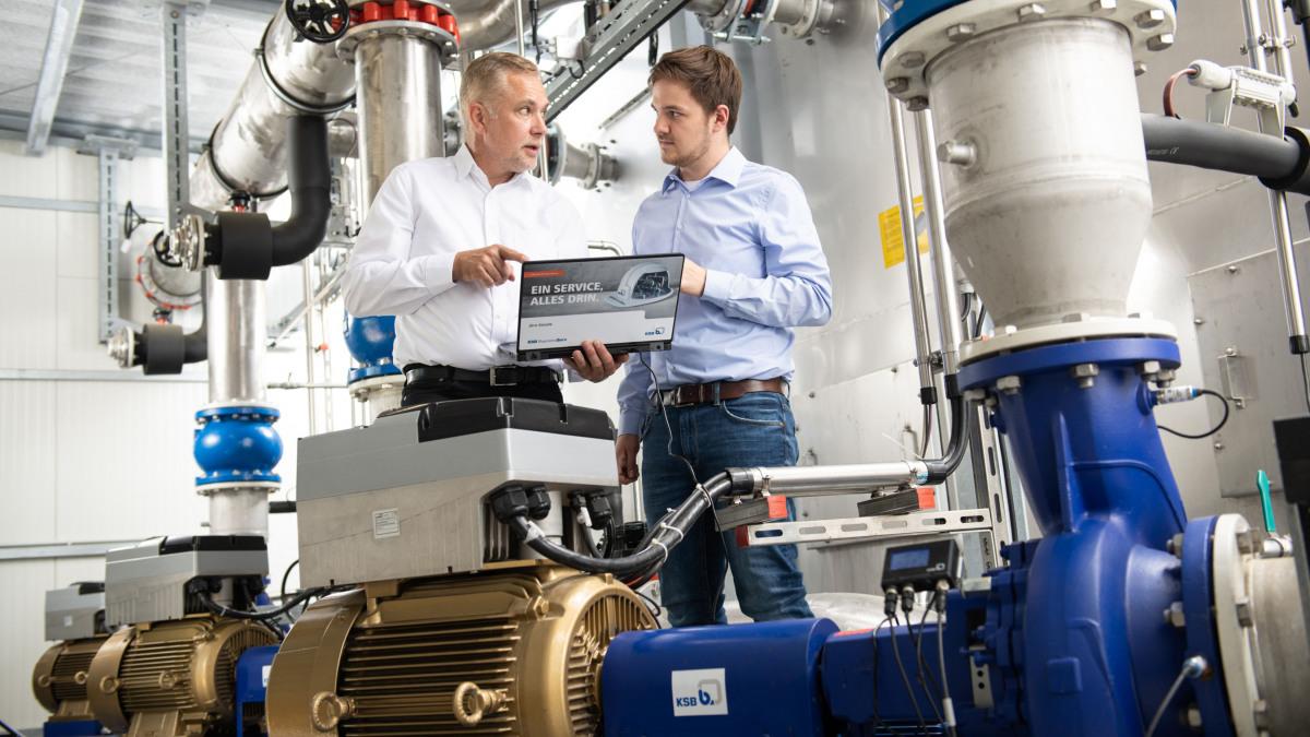 KSB puts digitalisation into practice
