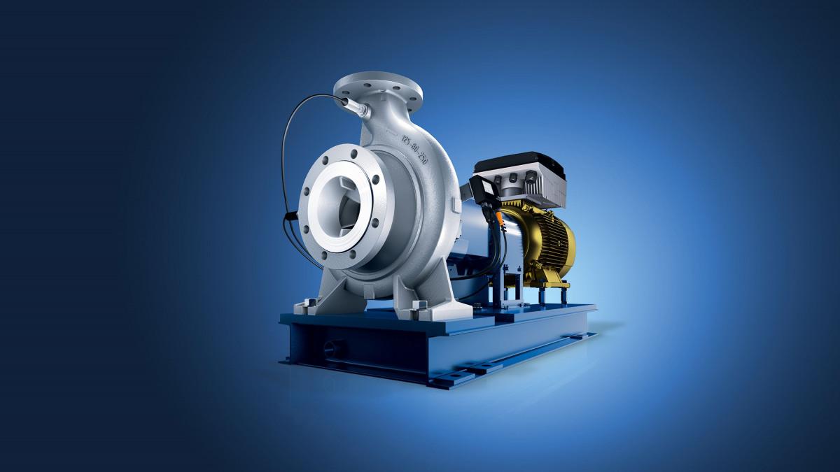 The premium version of the Mega CPK volute casing pump