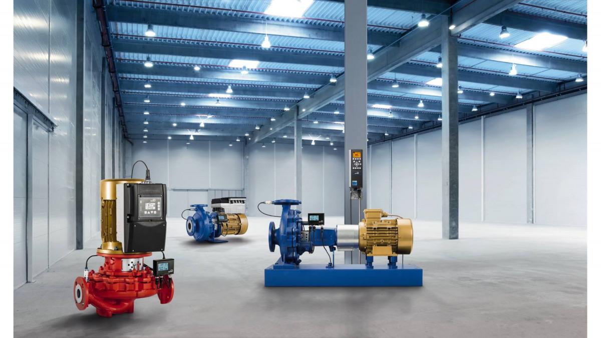Optimisez votre système grâce aux solutions d'automatisation et d'entraînement innovantes de KSB.