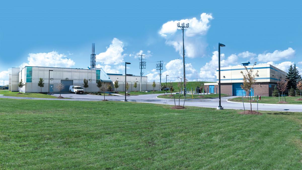 Die Pumpstation Airport Road  in der Region Peel, Ontario.