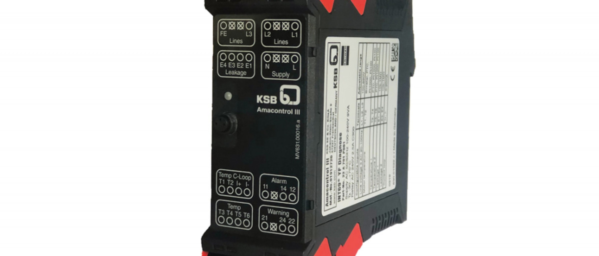 The new Amacontrol III module from the KSB Group